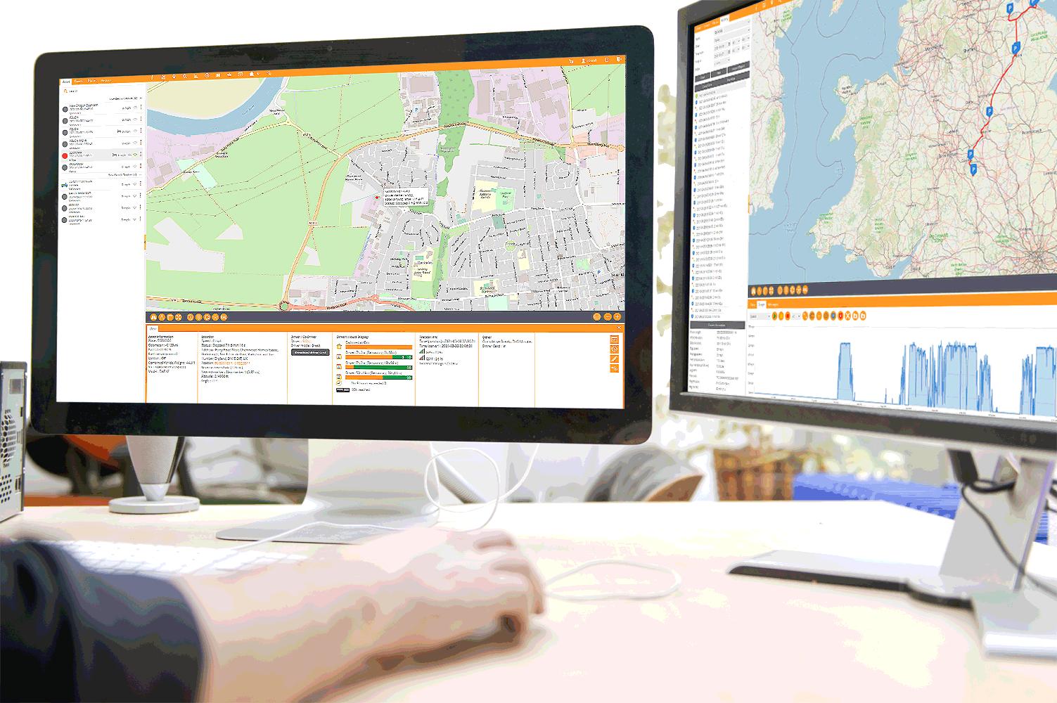 Live-Tracking-Dual-Screen